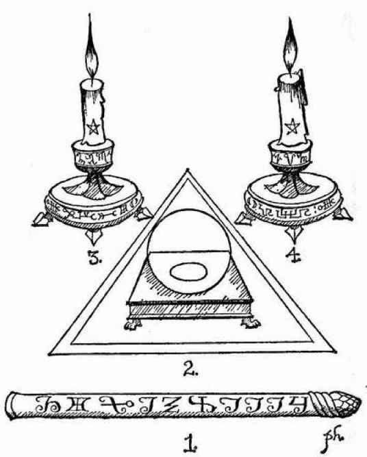 Key Solomon Wand And Witches
